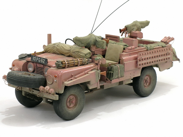 Land Rover 3/4ton Pink Panther S.A.S, 1970 - RochmCheng